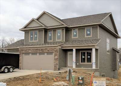 Coralville Single Family Home New: 361 Russell Slade Blvd