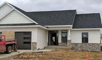 Coralville Single Family Home New: 355 Russell Slade Blvd