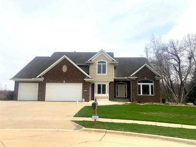 Coralville IA Single Family Home New: $849,000