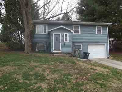 Iowa City IA Single Family Home New: $169,900