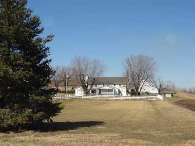 Iowa County Single Family Home For Sale: 1851 275th Street