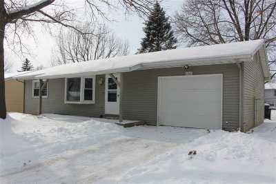 Iowa City IA Single Family Home New: $184,900
