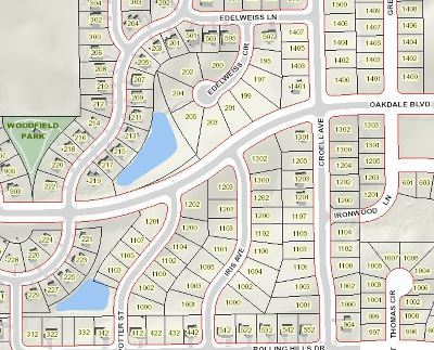 Johnson County Residential Lots & Land New: 1000 Iris Ave