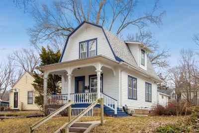 Iowa City Single Family Home For Sale: 732 Dearborn