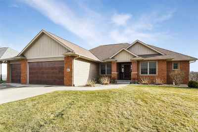Iowa City IA Single Family Home For Sale: $517,500