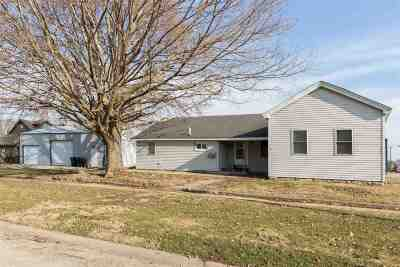 Tipton Single Family Home For Sale: 200 W 2nd St