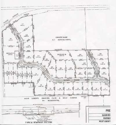 Muscatine County Residential Lots & Land For Sale: LT 5 Elder Ridge Part 3