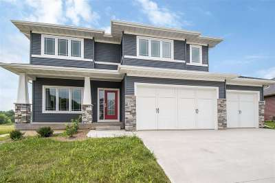 Iowa City Single Family Home Contingent: 1225 Ava Circle