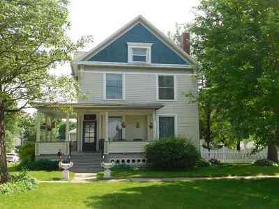 Tipton Single Family Home For Sale: 221 E 6th Street