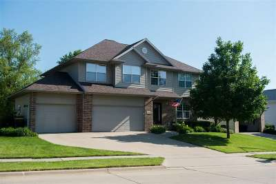 Iowa City Single Family Home New: 3704 Donegal Ct