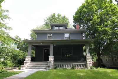 Iowa City IA Single Family Home Contingent: $498,000