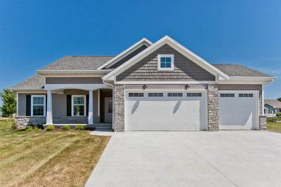 Iowa City IA Single Family Home New: $329,900