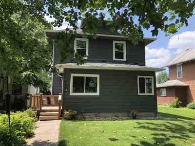 Keota IA Single Family Home For Sale: $109,900