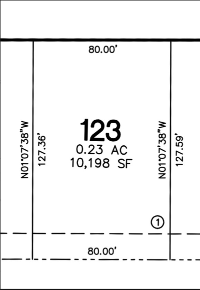 North Liberty Residential Lots & Land For Sale: Lot 123 Harvest Estates Ii Part 5