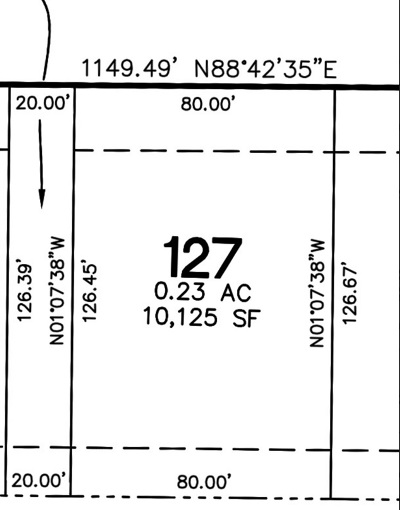 North Liberty Residential Lots & Land For Sale: Lot 127 Harvest Estates Ii Part 5