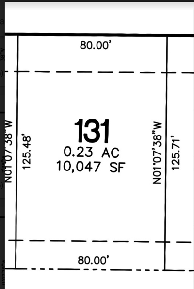 North Liberty Residential Lots & Land For Sale: Lot 131 Harvest Estates Ii Part 5