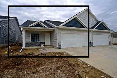 Cedar Rapids Condo/Townhouse For Sale: 1324-A Grant Court NE
