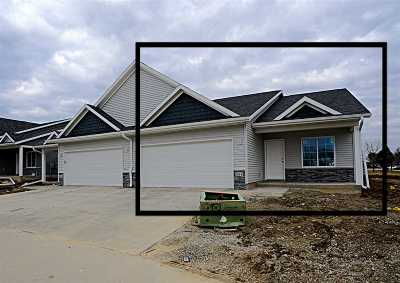 Cedar Rapids Condo/Townhouse For Sale: 1324-B Grant Court NE