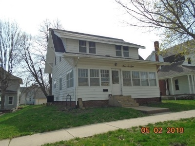 Tipton Single Family Home For Sale: 408 Meridian St