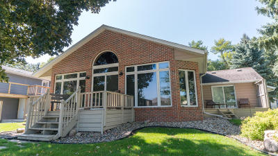 Arnolds Park Single Family Home Active Contingent: 176 Dam Road