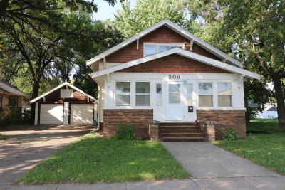 Spencer IA Single Family Home Active Contingent: $72,000