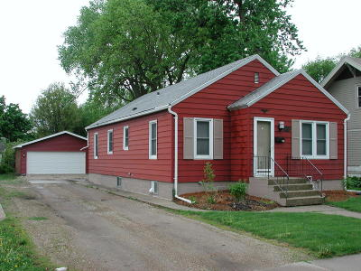 Spencer IA Single Family Home For Sale: $109,900