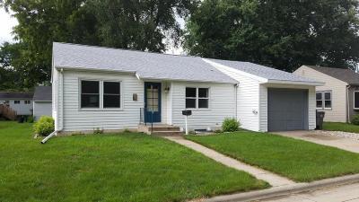 Spencer IA Single Family Home For Sale: $96,900