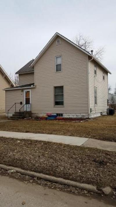 Spencer IA Single Family Home For Sale: $64,750
