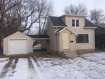Spencer IA Single Family Home For Sale: $66,500
