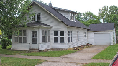 Single Family Home For Sale: 1403 Center Street