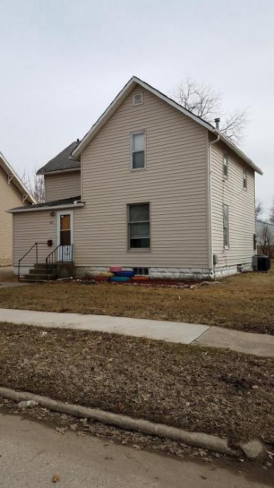 Spencer Single Family Home For Sale: 622 W 5th Street