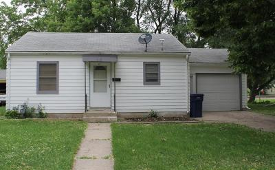 Spencer Single Family Home For Sale: 613 W 7th Street