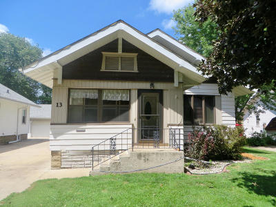 Spencer IA Single Family Home For Sale: $122,500
