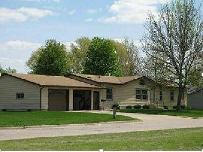 Spencer IA Single Family Home For Sale: $142,900