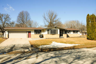 Spencer IA Single Family Home Active Contingent: $197,780