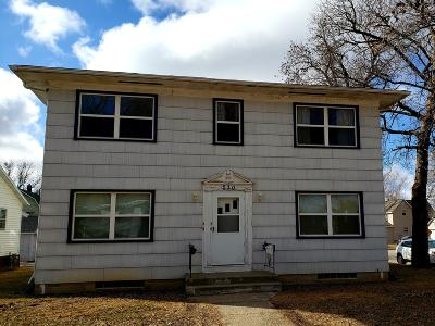 Spencer IA Multi Family Home Active Contingent: $100,000