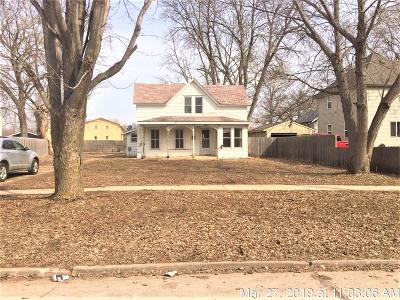 Spencer IA Single Family Home For Sale: $47,700