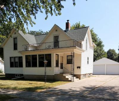 Spencer IA Single Family Home Active Contingent: $92,500
