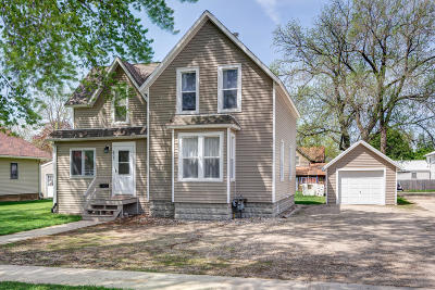 Estherville Single Family Home Active Contingent: 603 N 9th Street