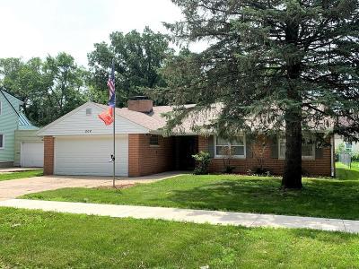 Spencer Single Family Home For Sale: 204 E 14th Street