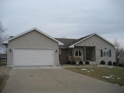 Marshalltown IA Single Family Home Sold: $199,900