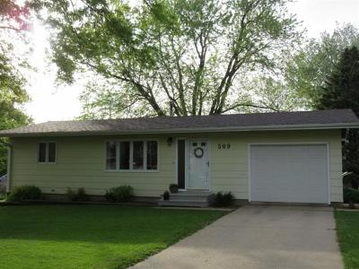 Marshalltown IA Single Family Home Sale Pending: $89,900
