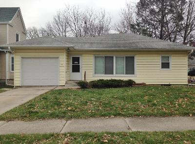 Marshalltown IA Single Family Home For Sale: $67,700