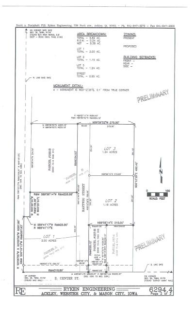 Conrad Residential Lots & Land For Sale: 3 1st Addition Smith Development