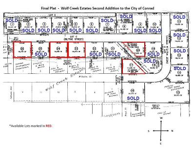 Conrad Residential Lots & Land For Sale: 601 Wilhelm Street