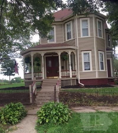 Gilman, Toledo Single Family Home For Sale: 300 S East Street