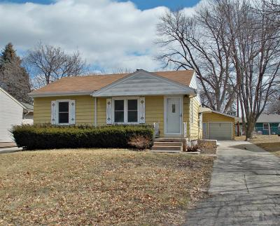 Marshalltown IA Single Family Home Sold: $72,500
