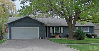 Marshalltown IA Single Family Home Sold: $226,000