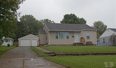 Marshalltown IA Single Family Home Sold: $78,000