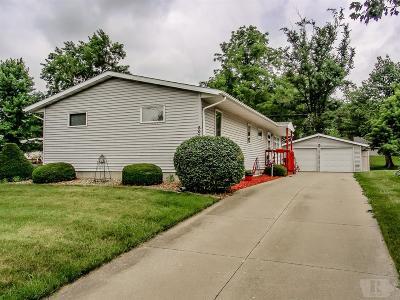 Marshalltown IA Single Family Home For Sale: $115,900
